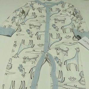 Other - Carters Safari Themed SnapUp Footless Sleep and pl